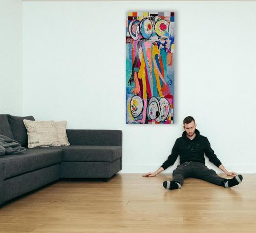 Livingroom Gemälde an der Wand